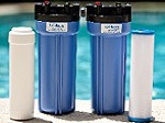 MetalTrap Dual-Cartridge Filter, for pools and spas.