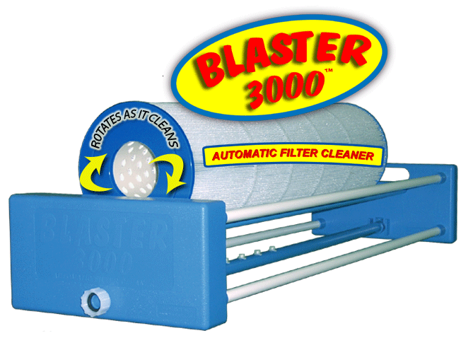 Blaster 300 automatic filter cartridge cleaner.