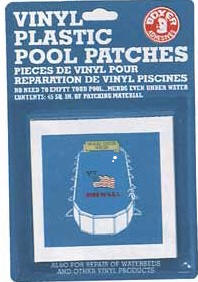 Boxer vinyl plastic pool patches