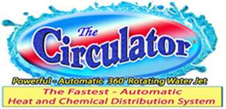 The Circulator is a return jet fitting. that makes the water come alive.