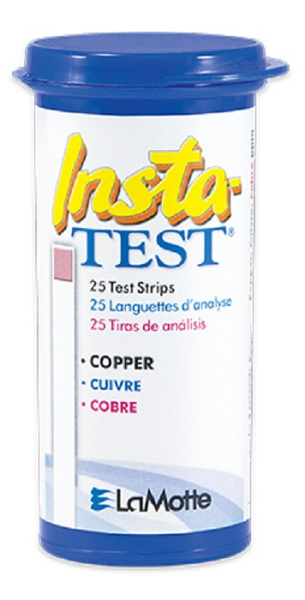 Insta-Test Copper Pool and Spa Test Strips.