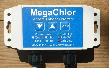 MegaChlor Salt Chlorine Generators for Spas.