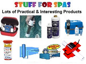 Stuff for Spas - accessory products.