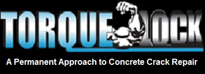Torque-Lock Concrete Crack Repair System