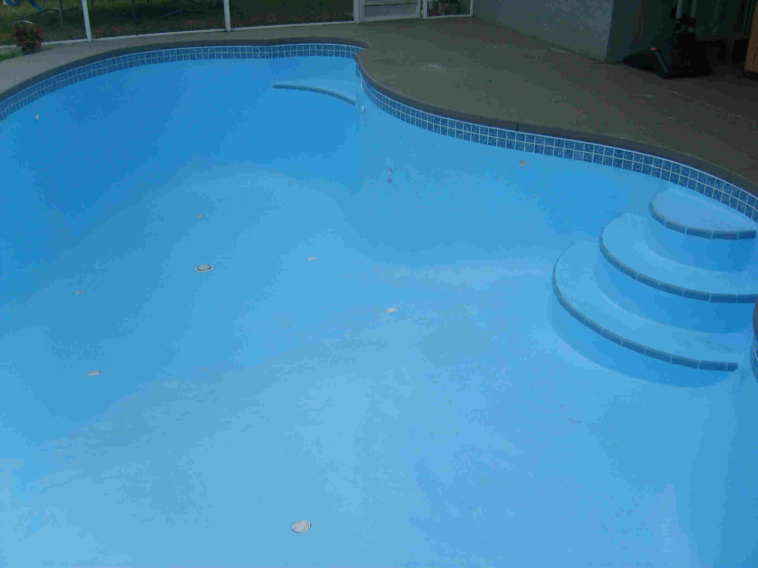 Ultra Poly One Coat - Hybrid Epoxy Paint, for pools and spas. AFTER