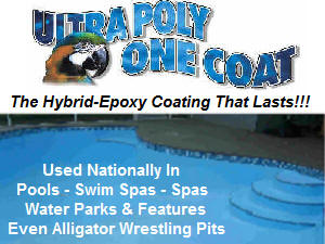 Ultra Poly One Coat Hybrid-Epoxy Coating.