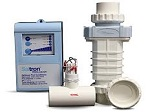 Saltron Reliant salt chlorine generators, for all types of pools.