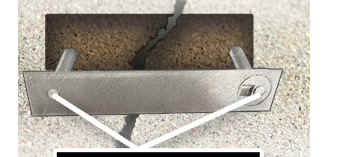 Torque-Lock repairs structural concrete cracks in pools and other applications.